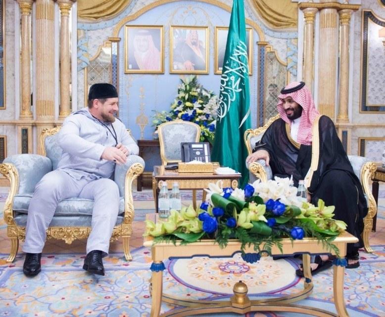 кадыров, саудовская аравия, война в сирии